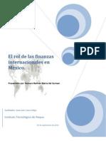 El rol de las finanzas internacionales en México