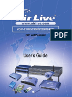 AirLive VoIP-211RS Manual