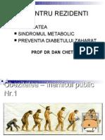 Obezitate, SM, preventie 2012