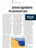 Marine for Personal Care