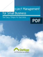 Simple Project Management For Small Business - Six Easy Steps To Success