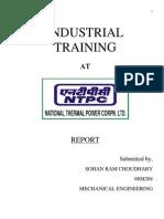 Industrial Training Ntpc