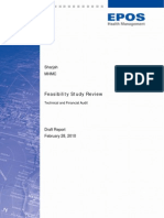 UAE Sharjah MHMC Feasibility Study Review Report v10