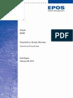 UAE Sharjah MHMC Feasibility Study Review Report v10