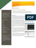 Nimsoft for Cisco IP SLA