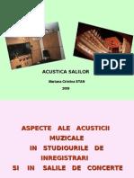 5-Acustica salilor