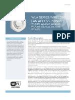 WLA Series Datasheet