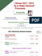 Adwec Winter 2011 2012 Demand Forecast Mar 2012