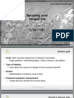 Securing Your Drupal Site