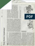 Manja Resslers 'Minderheden'- NIW - 31 Januari 2003