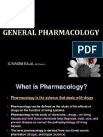 General Pharmacology - Introduction