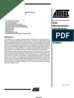 Datasheet Mikrokontroler AT89S51