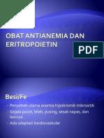 Obat Anti Anemia Dan Eritropoietin