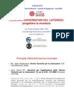 ANDIL_Progettare La Muratura UniBS
