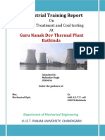 Project Report on Thermal Plant