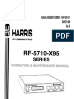 Rf-5710-x95 Series. Manual de Operacion y Mantenimiento