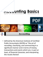 Basic Accounting Concepts