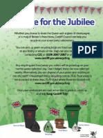 Jubilee Waste Flyer