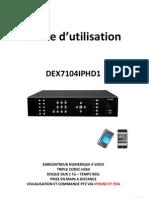 Guide Rapide DEX7104IPHD1