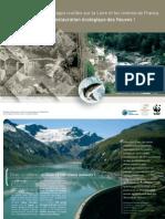 plaquette pour l'effacement des barrages de Poutès, de Vezins et de la Roche-qui-Boit