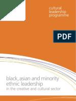 Black Asian and Minority Ethnic Leadership
