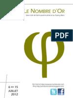 Dossier de Presse Le Nombre D'Or 2012