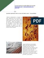 Questões Pre Historia  II-por-leandro-villela-de-azevedo