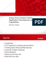 AACC Application Development and Integration Capabilities