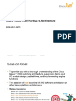 Cisco Nexus 7000 H/W Architecture