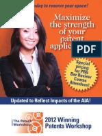 2012 Winning Patents Workshop
