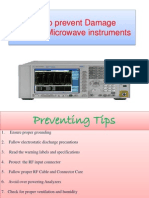 Tips to Prevent Damage to RF Equipment