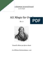 Rinck Adagios Op57