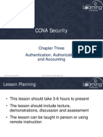 CCNA Security - Chapter 3 Overview-1