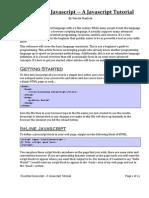 Essential Javascript -- A Javascript Tutorial