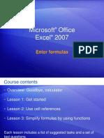MicrosoftR Office Excel Formula