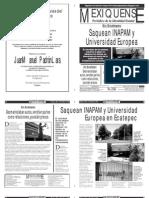 Versión impresa del periódico El mexiquense 30 mayo 2012