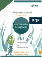 Ghid pentru Invatatori (Geografie) - Preview