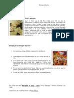 Receptes de Pluja i Sucre - El Respecte