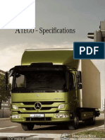 ATEGO Specifications