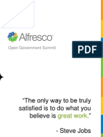 John Powell, CEO of Alfresco Software Presentation at Zaizi's Open Gov Summit 2012