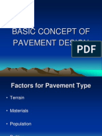 Basic Concept of Pavement Design - Ing. L. Lamptey