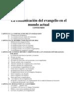 103 La Comunicacin Del Evangelio en El Mundo Actu