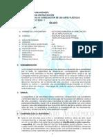 SILABOS A F III- _Apreciación de las Artes Plásticas 2012