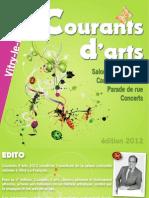 Courants Darts 2012