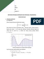 Integral Riemann Dan Integral Trapezioda