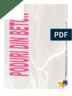 Poduri Din Beton - Selectie Pt Examen 2011