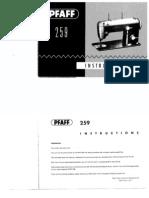 Pfaff 259