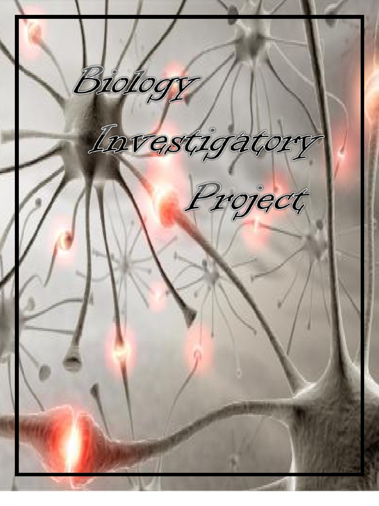 Can you give me Investigatory Project titles at least 10 titles that are really good?