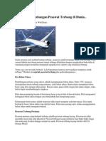Sejarah an Pesawat Terbang Di Dunia