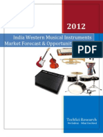 India Western Musical Instruments Market Forecast & Opportunities, 2017_Sample